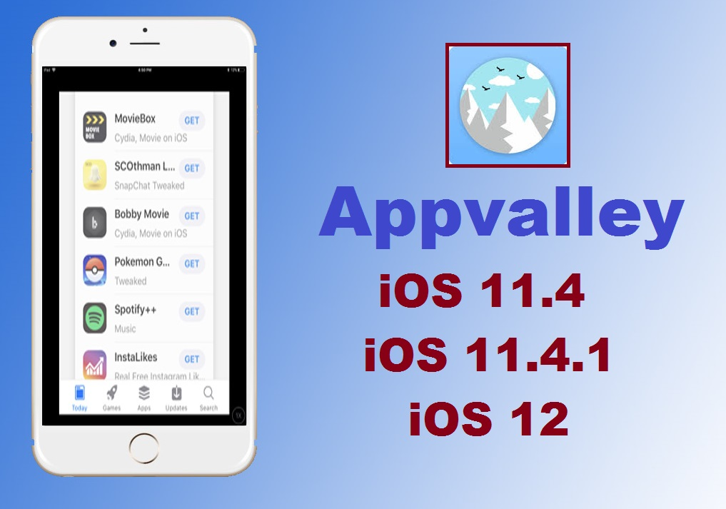 appvalley iOS 11.4